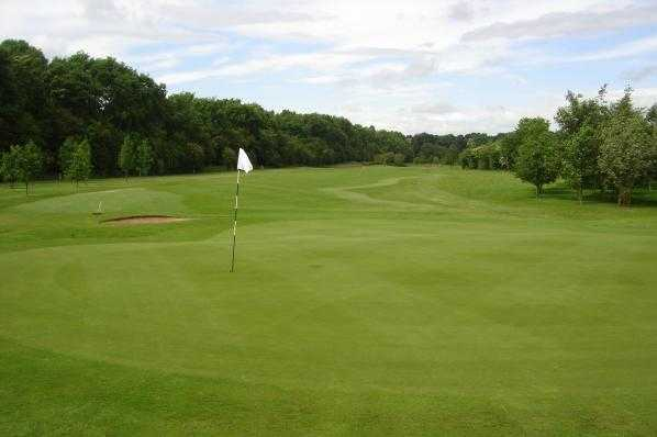 A view of the 10th hole at Wetherby Golf Club