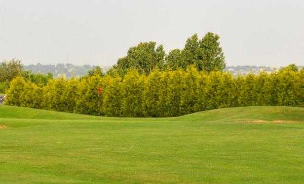 A view of hole #9 at Fountain Ridge Course from Willow Valley Golf
