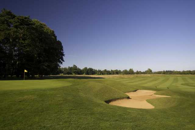 A view of the 16th hole at PGA Bowood - England