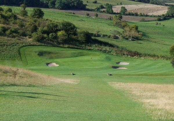 A view from fairway #13 at North Wilts Golf Club