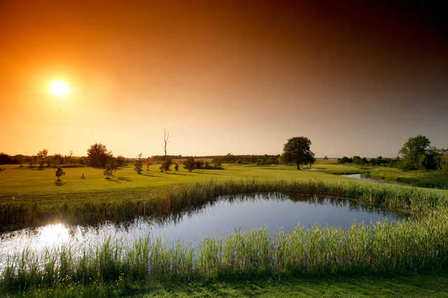 A view over the water from Garden Course at Wiltshire Hotel, Golf & Country Club