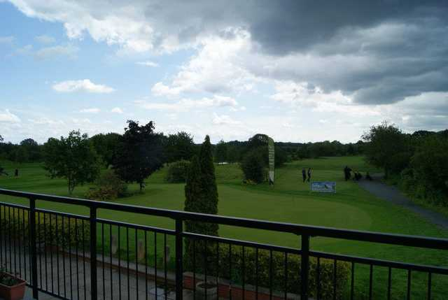 A view from the clubhouse at Bransford Golf Club