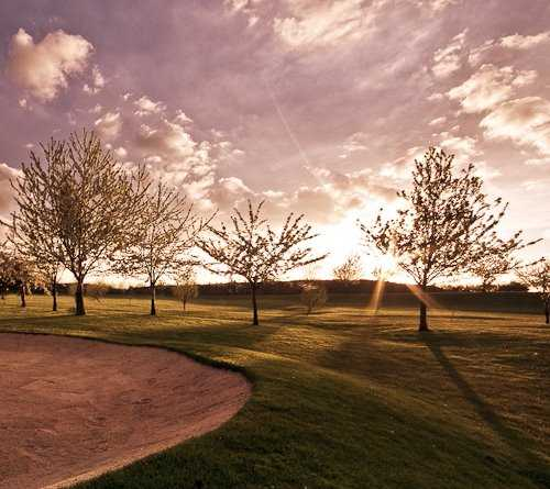 A sunny view from Bransford Golf Club