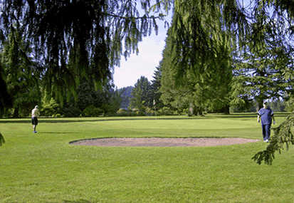 A view of the 4th hole at Greenlea Golf Course