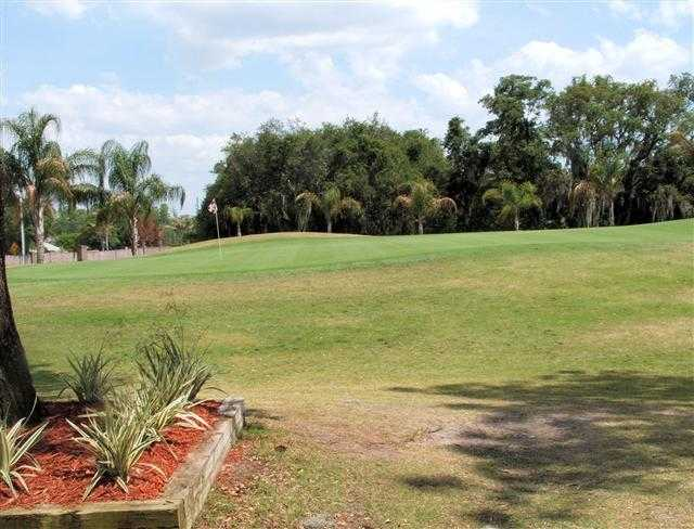 A view of a green at Timber Greens Country Club