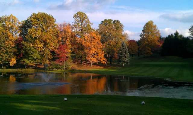 A view from a tee at Paradise Lake Country Club
