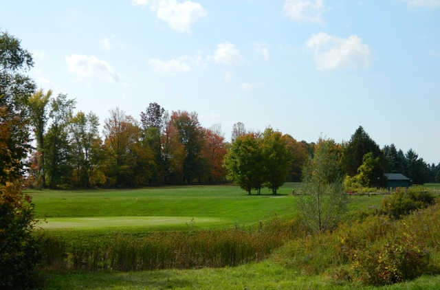 A fall view from Trehaven Golf and Country Club