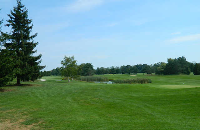 A view from a fairway at Trehaven Golf and Country Club