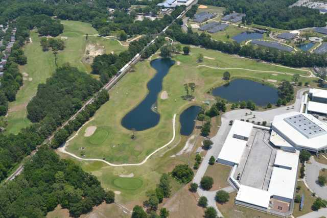 Aerial view from The First Tee of North Florida - Brentwood Golf Course