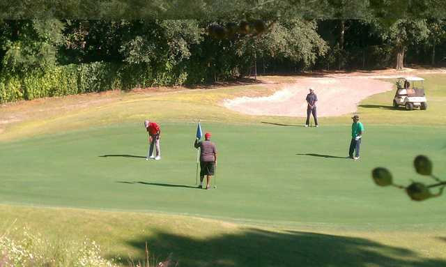 View from the 1st green at The First Tee of North Florida - Brentwood Golf Course