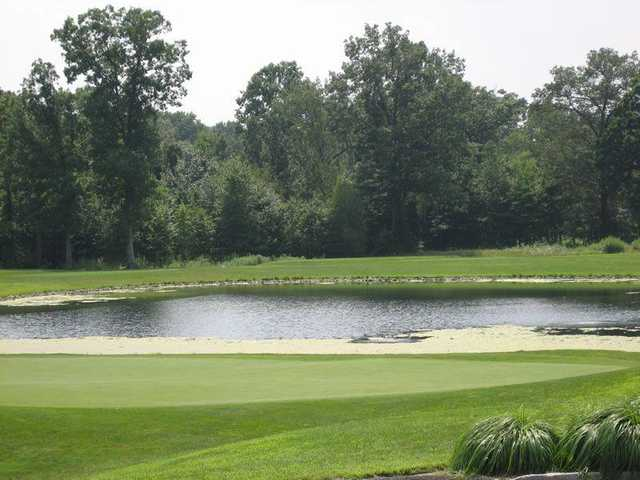 A view from Valley Brook Golf Course