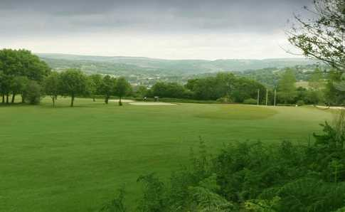 A view of a fairway at Bryn Meadows Golf Club