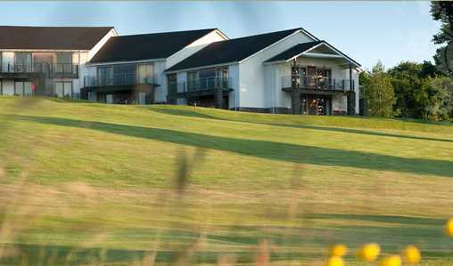 A view of the clubhouse at Bryn Meadows Golf Club