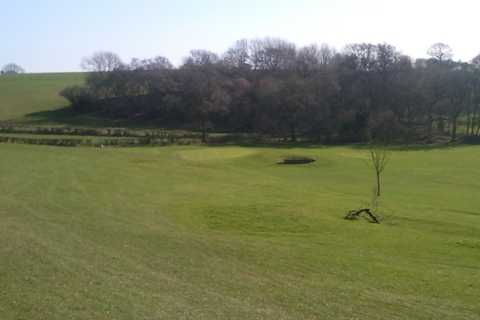 A view from fairway #12 at Dinas Powis Golf Club