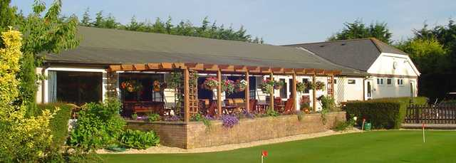 A view of the clubhouse at RAF St. Athan Golf Club