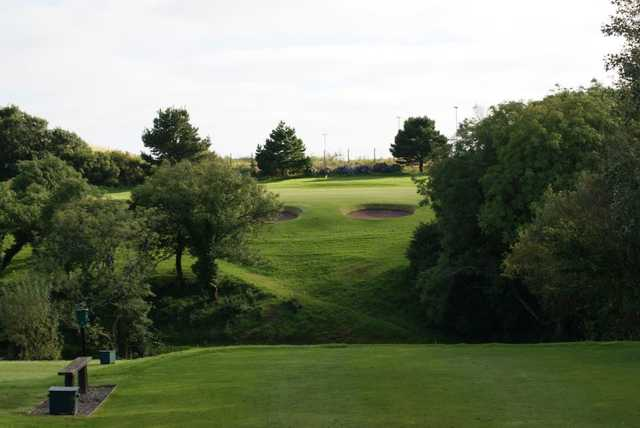 A view of tee #4 at Milford Haven Golf Club