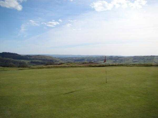 A view of the 4th hole at Welshpool Golf Club