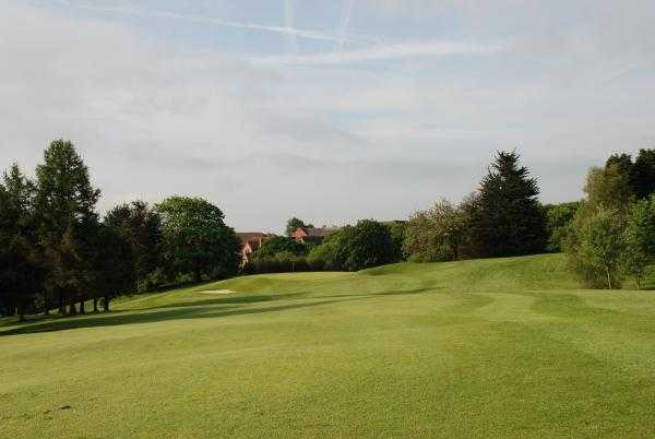 A view from fairway #1 at Radyr Golf Club