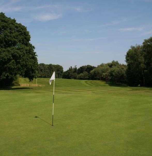 A view of hole #5 at St. Mellons Golf Club