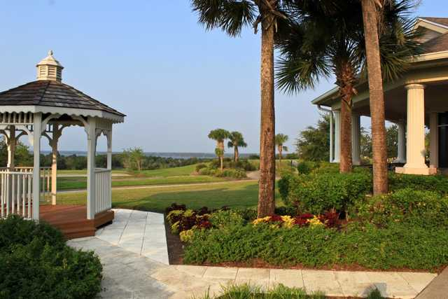 A view from the clubhouse at Legends Golf & Country Club
