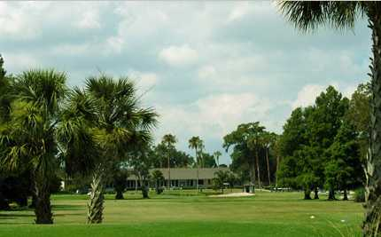 A view of the clubhouse at Magnolia Valley Golf Club