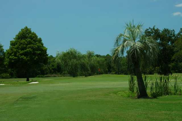 A view of a fairway at Magnolia Valley Golf Club