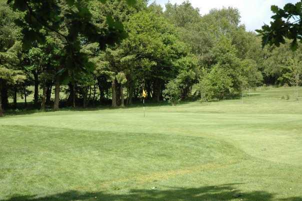 A view of hole #2 at Pontardawe Golf Club