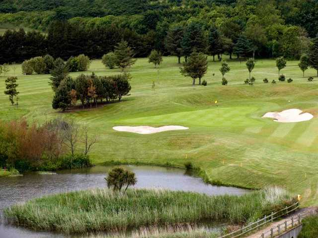 A view of the 15th hole at Blainroe Golf Club
