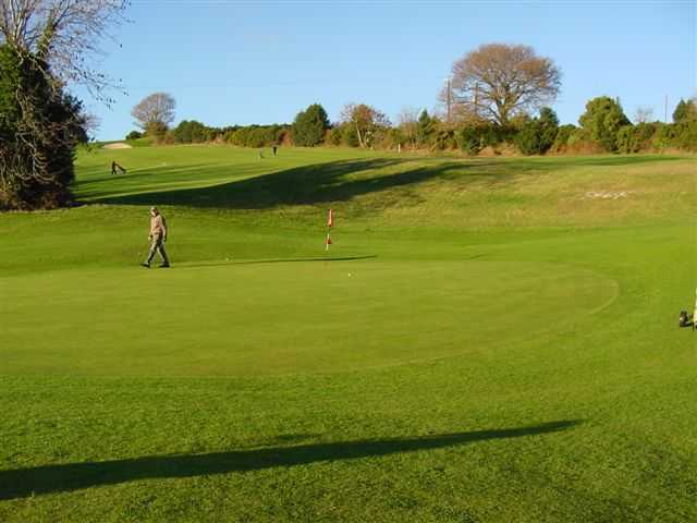 A view of green #2 at Glenmalure Golf Club