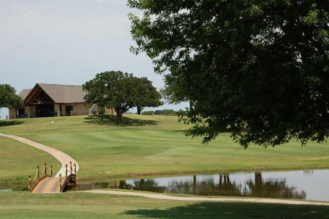 A view of the clubhouse at Lake Murray State Park Golf Course