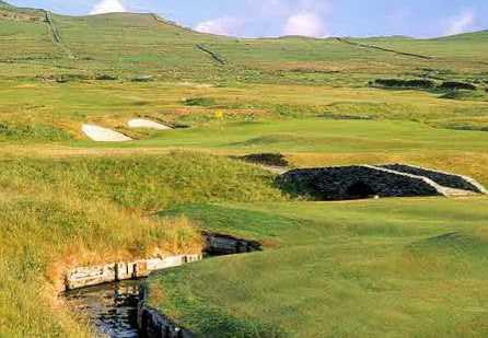A view of a green at Ceann Sibeal (Dingle) Golf Club