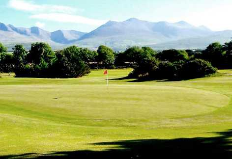 A view of a green at Beaufort Golf Club