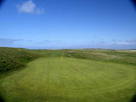 A view of the 3rd hole at Castlegregory Golf Club
