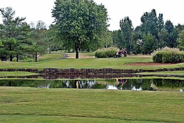 A view of the 12th hole at Madisonville Country Club (Skylar Phaup)