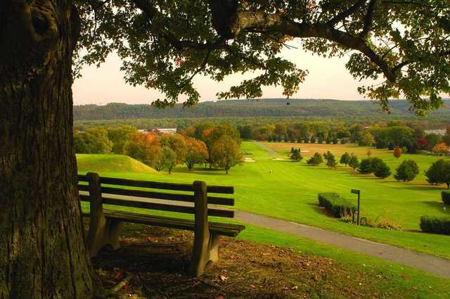 A fall view from Susquehanna Valley Country Club