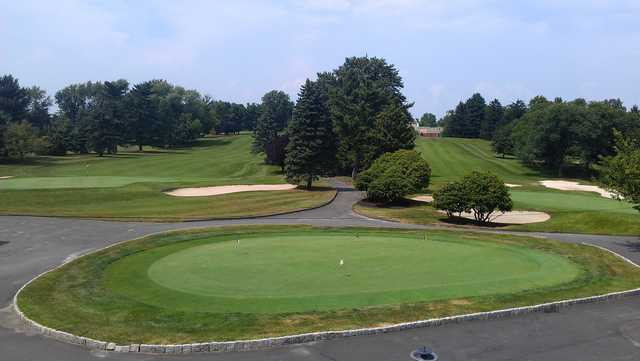 A view from Yardley Country Club