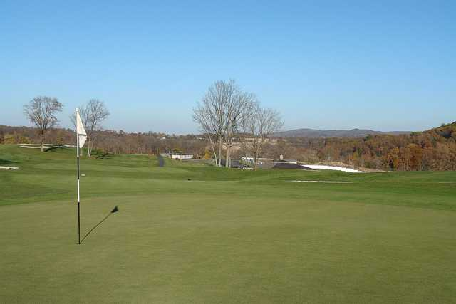 A view of hole #10 at Riverview Country Club