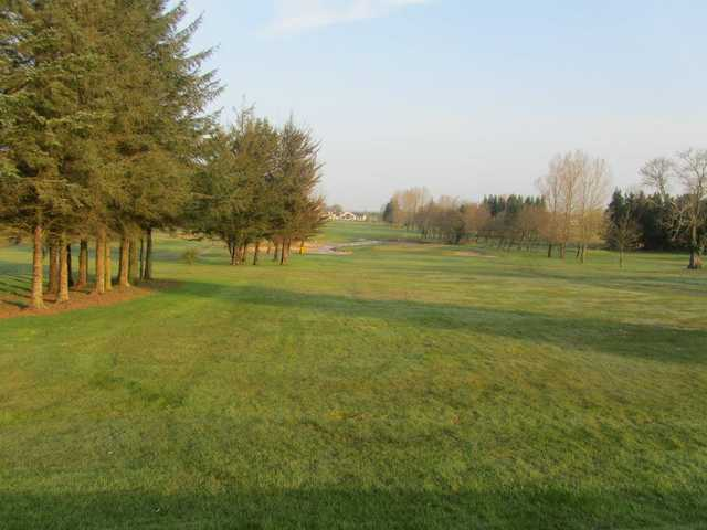 A view of the 9th fairway at Roscommon Golf Club