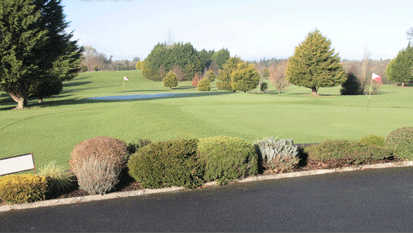 A view of a green at Castlerea Golf Club