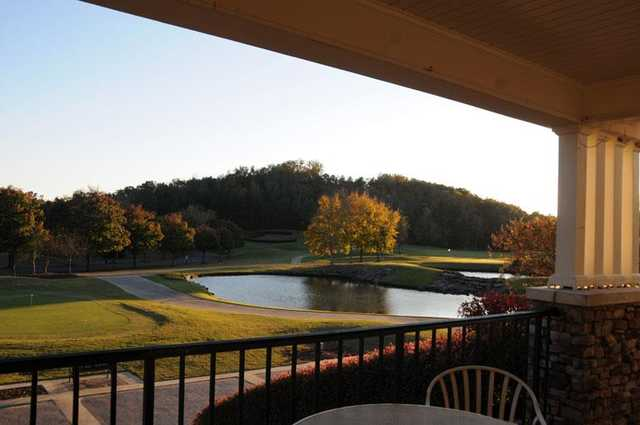 A view from the clubhouse at Cherokee Ridge Country Club