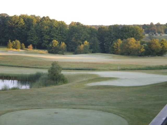 A view from tee #9 at Blue from Mistwood Golf Course