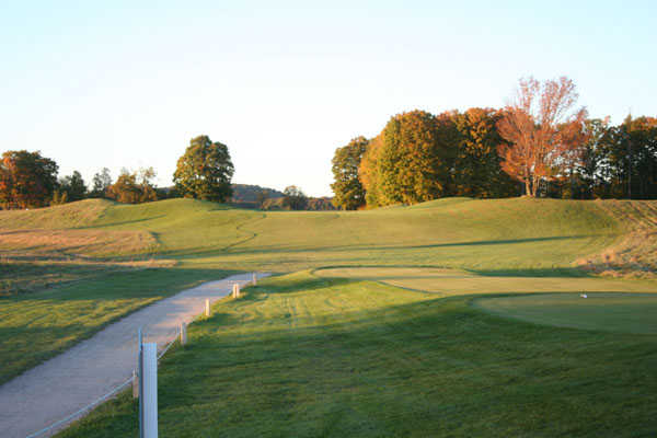 A view from a tee at White from Mistwood Golf Course