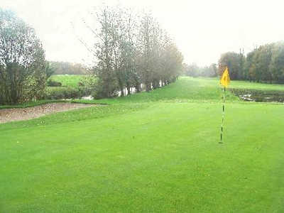 A view of the 16th hole at Portarlington Golf Club