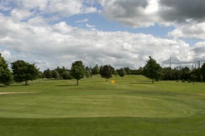 A view of the 17th green at Portlaoise Golf Club