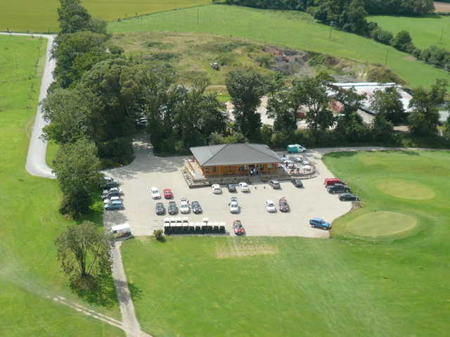 A view of the clubhouse at Bellewstown Golf Club
