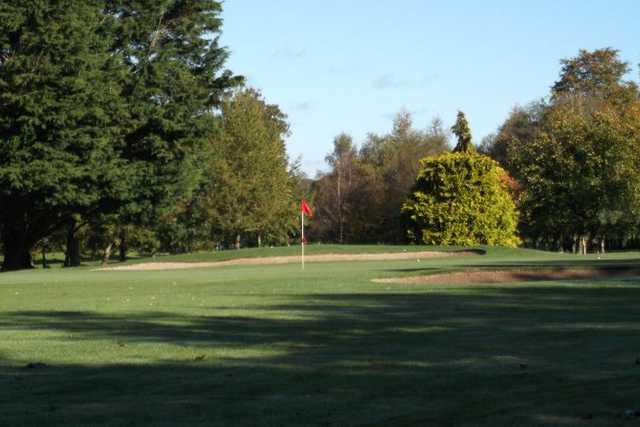 An autumn view from Royal Tara Golf Club