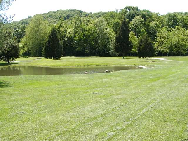 A view from a fairway at Deer Creek USA Golf and Event Center