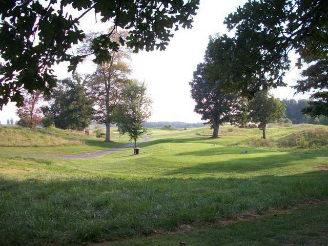 A view from Crossings Golf Club