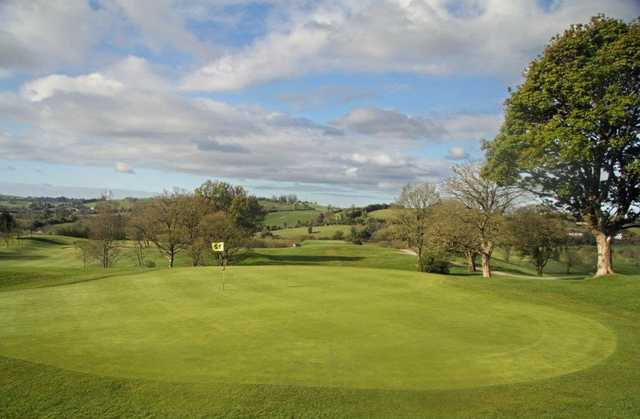 A view of the 12th hole at Rossmore Golf Club