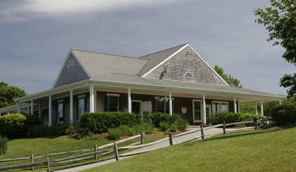 A view of the clubhouse at North Hill Country Club